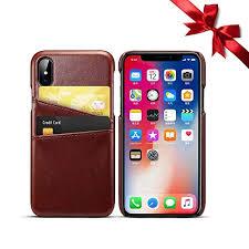 Amazoncom Iphone Xs Max Case Business Card Holder Debit Credit