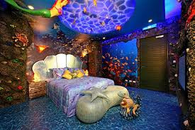 High Quality 15 Dazzling Mermaid Themed Bedroom Designs For Girls