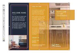 trifold brochure indesign template tri fold brochure free indesign template
