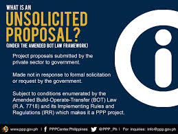 Project Proposals Amazing Get To Know More About PPP Unsolicited Proposals PPP CenterPPP Center
