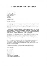 Addressing Hiring Manager In Cover Letter Project Manager Cover With