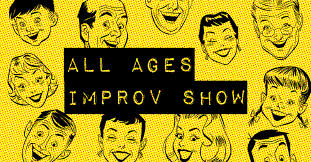 this one hour show is packed with fast paced short form improv comedy aunce partition is guaranteed and content is appropriate for kids and