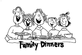 dinner table clipart black and white. family-dinner-play-with-your-family dinner table clipart black and white