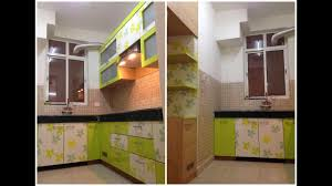 Live Working Indian Modular Kitchen Design Detail Simple With