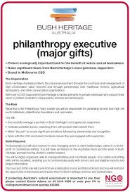 philanthropy major gift and relationship fundraising