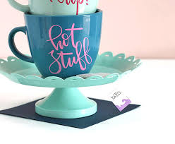 how to diy personalized mugs and tea cups