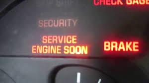2000 Camaro Service Engine Soon Light Gm Vats Bypass On A 1994 Camaro