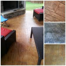 Concrete Wood Floor Stamped Concrete Can Simulate Real Hardwood Floors Concrete Craft