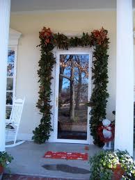 how to hang garland around front doorFront Doors Beautiful Garland Around Front Door How To Hang