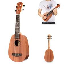 <b>21 inch soprano</b> pinapple mahogany ukulele 4 strings hawaii mini ...