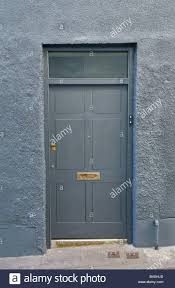 grey front doorGrey Front Door With Sidelights Light Paint Siding What Color