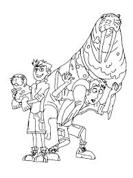 Wild Kratts Coloring Pages Pbs Bltidm
