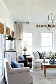 Sunroom Dining Room Stunning Savvy Southern Style French Farmhouse Winter Sun Room