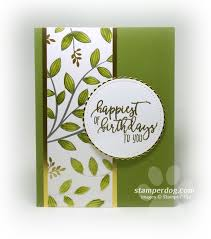 Easy And Elegant Birthday Card Cards Embelishments Rubber