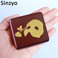 This beautiful music box is the ideal way for you to put your favorite trinkets on display, but you can put them in something other than the traditional k. Sinzyo Handmade Wooden Masquerade Music Box Birthday Gift For Christmas Birthday Custom Engraved Music Box Personalized Gift Music Boxes Aliexpress
