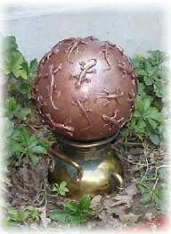 Decorated Bowling Balls 100 best yard art images on Pinterest Garden art Garden 13