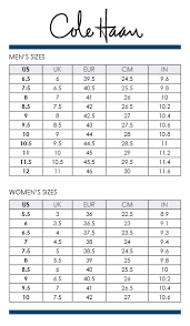 Cole Haan Shoe Size Chart Cole Haan Shoes Size Chart In Cm Best Picture Of Chart