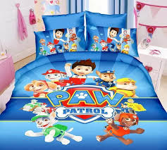 Bed sheets for twin beds Queen Blue Paw Patrol Dog Bedding Bed Linen Set Boys Bedspreads For Twin Single Size Beds 3pcs Include Comforterduvet Cover Sheetsin Bedding Sets From Home Aliexpresscom Blue Paw Patrol Dog Bedding Bed Linen Set Boys Bedspreads For Twin