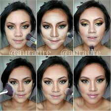 makeup with image with light makeup step by step with amazing face makeup tutorial art step