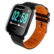 SYL PLUS Bluetooth <b>A6 Smartwatch</b> for Health and Fitness for <b>Heart</b> ...