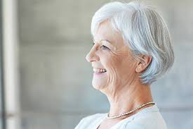 Image result for smiling old lady face