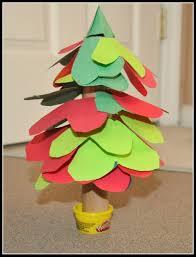 Christmas Arts And Crafts For Kids Christmas Crafts For Kids A Christmas Tree Of Hearts Kids Play Box