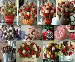 chocolate strawberry bouquets