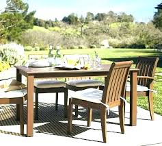 staggering pottery barn umbrella outdoor furniture fixed dining table pottery barn outdoor patio table