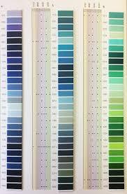 Mettler Color Chart Mettler Thread Chart Silk Finish Cotton