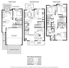 townhouse floor plans. Bold Ideas 10 Three Story Townhouse Floor Plans 65 Best About