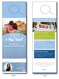 Door Hanger Design Template Mesmerizing Real Estate Door Hangers