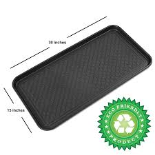 Shoe Mats Multi Purpose Mat Tray Floor Protection Dog Food Waterproof Large