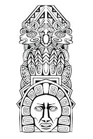 Mayan Coloring Pages Coloring Pages Printable Pictures Coloring
