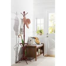 Threshold Metal Coat Rack With Umbrella Stand Threshold™ Metal Coat Rack with Umbrella Stand For the Home 13
