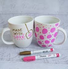 diy gifts for teens decorate a mug with a sharpie cool ideas for girls
