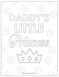 Small Picture Father Daughter Coloring Pages Coloring Pages Ideas