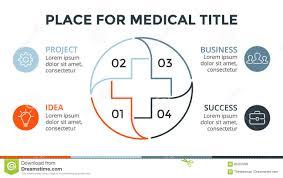 Vector Plus Infographic Medical Diagram Healthcare Graph