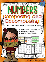 Fall Activities: Number Bonds Worksheets & Games - 5 ...
