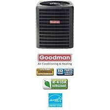 goodman ac unit. goodman ssx160481 16 seer r-410a condensing unit, 4.0 tons, 48,000 btu, ac unit