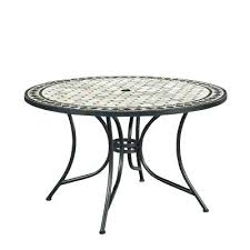 round metal patio table marble top round outdoor dining table round metal patio table