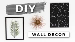 DIY Tumblr Room Decor! <b>Minimal Wall Art</b>! (Dollar Store DIYs ...