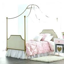 white wood canopy bed – icica.info