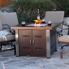 fire pit table propane lp gas patio heater outdoor fireplace