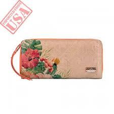 velez women genuine colombian leather bifold checkbook wallets in stan