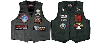 biker patches for vests and jackets