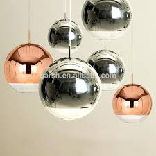 hanging glass chandelier whole ball chandeliers suppliers sphere large