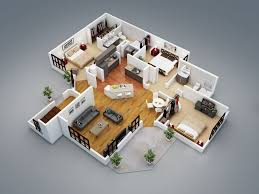 3 bedroom house plans 3d design 9 house design ideas