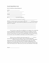 sle letters for disputing security deposit deductions in california new sle security deposit return letter