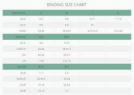 K2 Binding Size Chart Cinch Tryst Snowboard Bindings