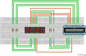 controlling a seven segment display from the raspberry pi acirc middot rpi labs first we are going to connect the four digit seven segment display to the gpio pins as follows